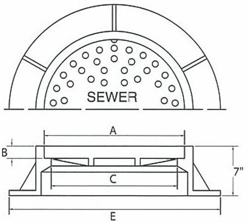 Barry pattern foundry barrycraft standard manhole