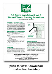 E-Z Frames Instruction Booklet